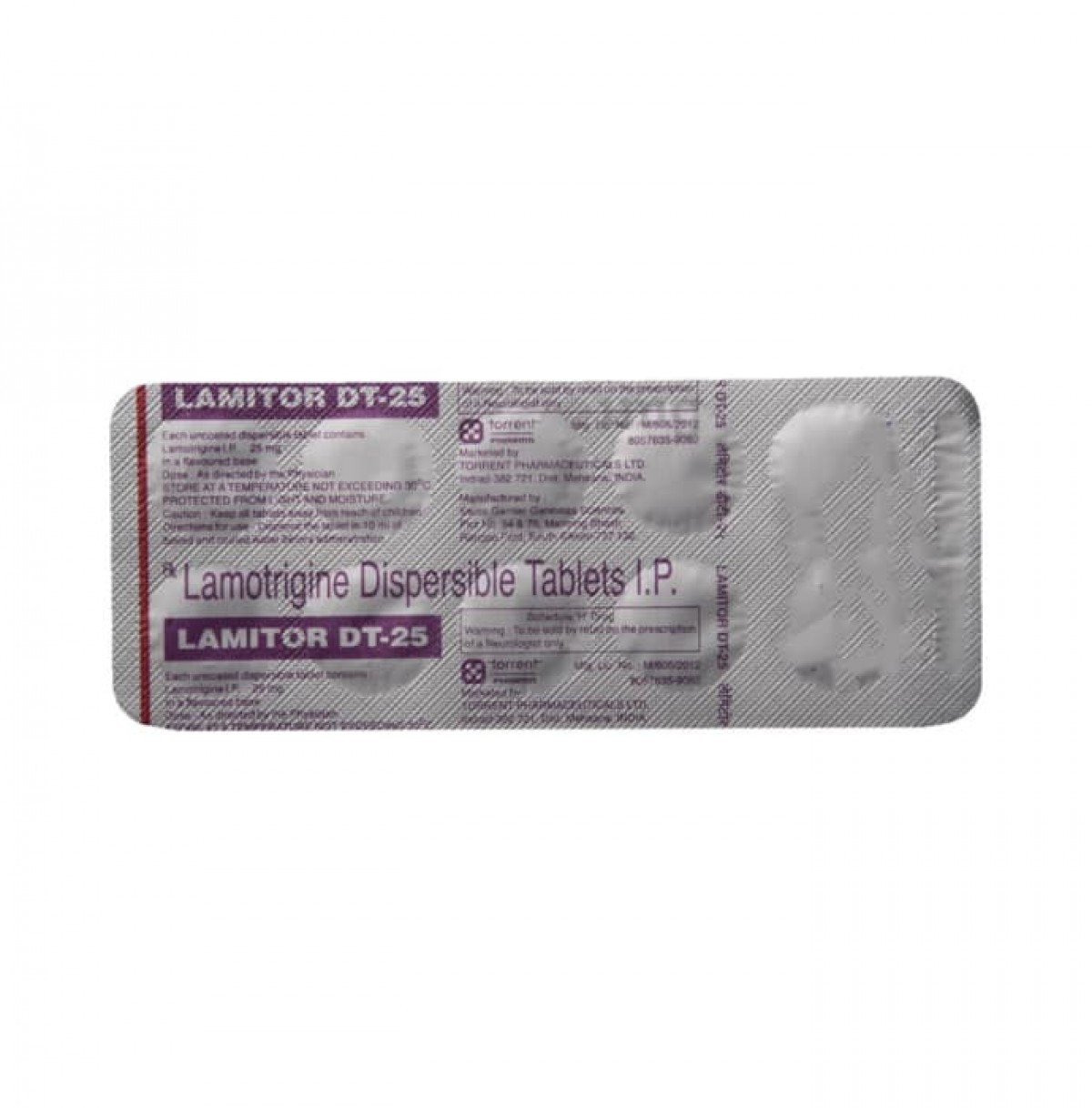 Lamitor 25mg Tablet DT