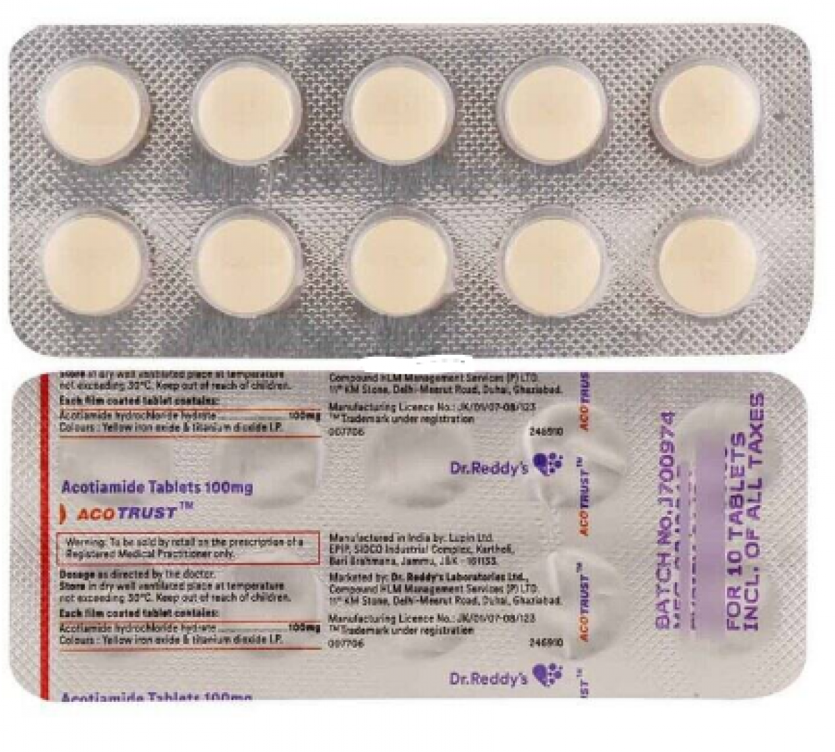Acotrust 100mg Tablet