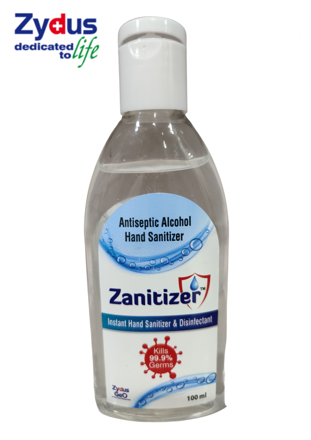 Zanitizer By ZYDUS Cadilla(100ML bottle)